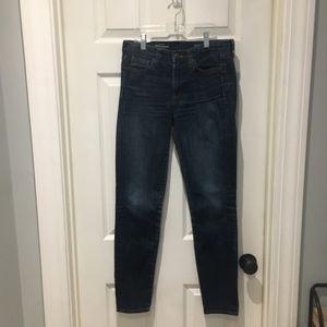 J.Crew midrise toothpick jeans SZ 27